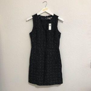 BNWT Banana Republic Tweed Black Dress sz 6
